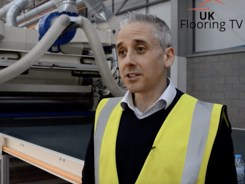 Michael Walsh from Texfelt talks about springbond recycled underlay