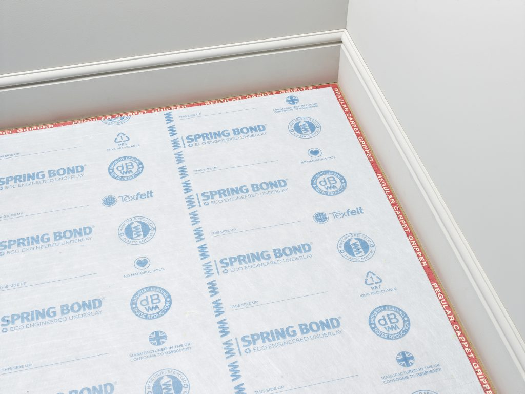 Headlam's SpringBond underlay sales represent over 1 million plastic bottles being recycled