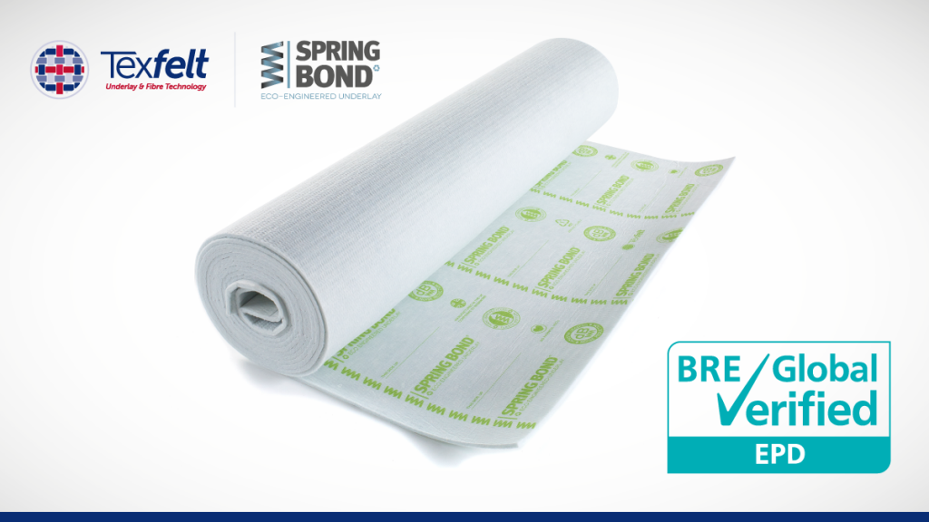 Texfelt announces BRE accreditation for SpringBond